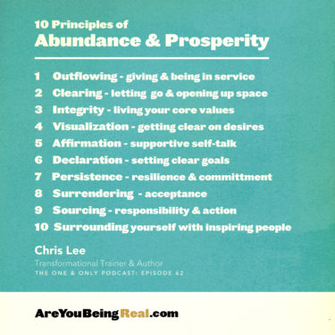 chris lee principles